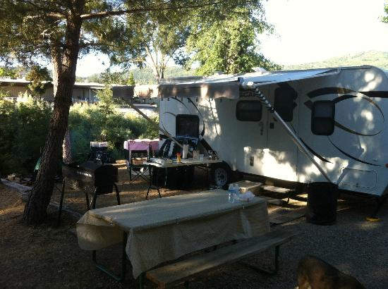 High Sierra RV Park & Campground: Site 40