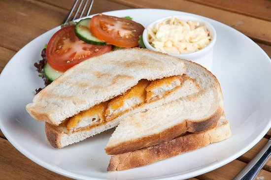 Steff's Kitchen: Fishfinger Sandwich