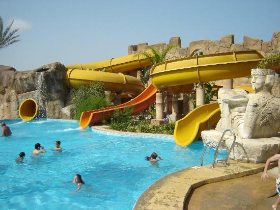 Zona de toboganes fotograf a de zimbali playa spa hotel for Hoteles en vera almeria
