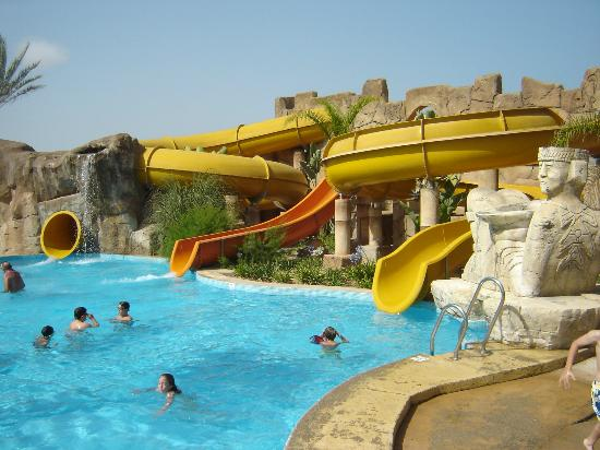 Zimbali Playa Spa Hotel: Zona de toboganes