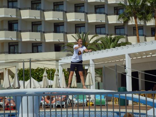 Protur Bonamar : Natalie the very fit and friendly entertainment rep