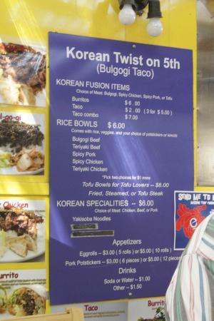 Korean Twist On 5th Food Trucks Picture Of Portland Walking Tours