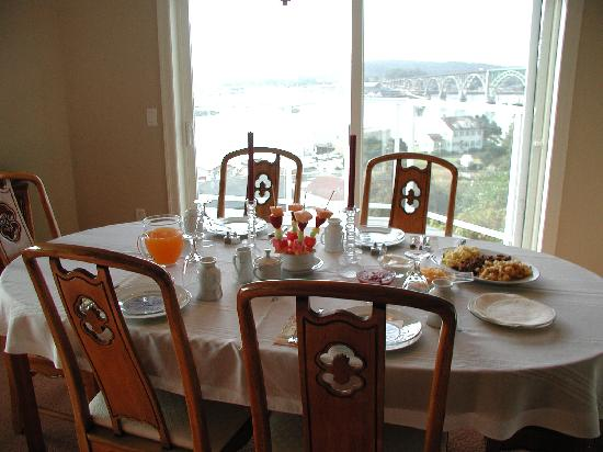 The Lightkeeper's Inn Bed & Breakfast: Typical Breakfast
