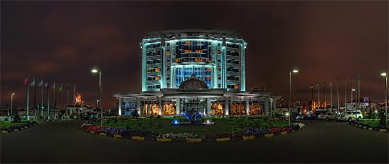 Rixos President Astana Hotel: Hotel Front View