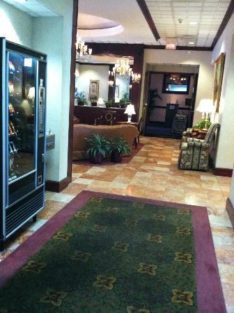 "Quality Inn & Suites Shippen Place Hotel: ""Elevator Lobby"" off the main lobby"