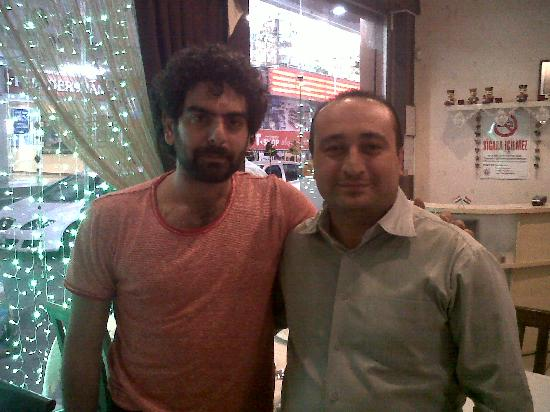 SWAAD Indian Restaurant: Turkish actor mehmet ali nuroğlu