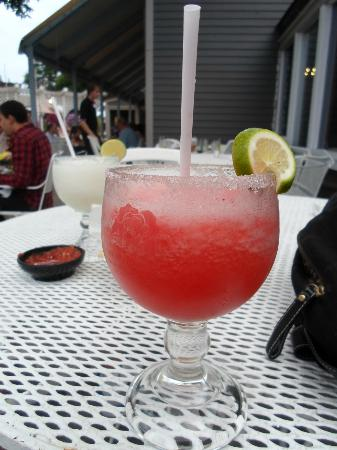 Mexicali Rose: margaritas on the patio