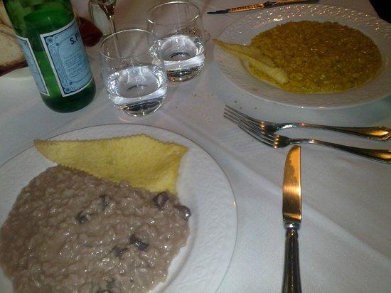 La Zuccona: risotto piatti