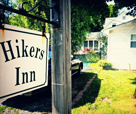 Hikers Inn: View from the back.
