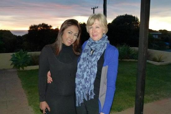 With the wonderful host of Pacific Allure Heights, Judy