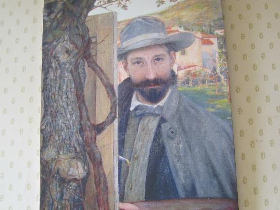 Casa Schlatter : artist's self portrait..