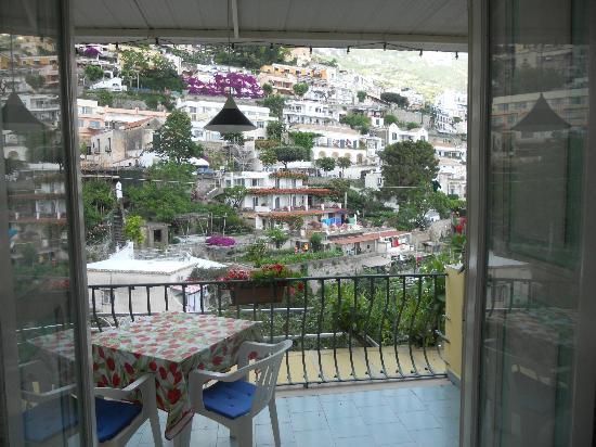 Venus Inn B&B Positano: view from balcony