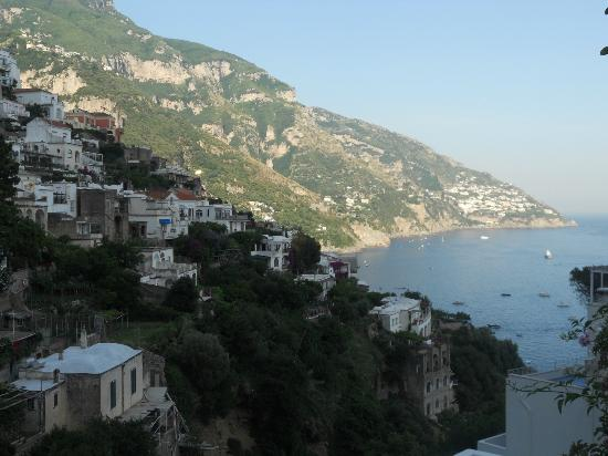 Venus Inn B&B Positano: view from balcony