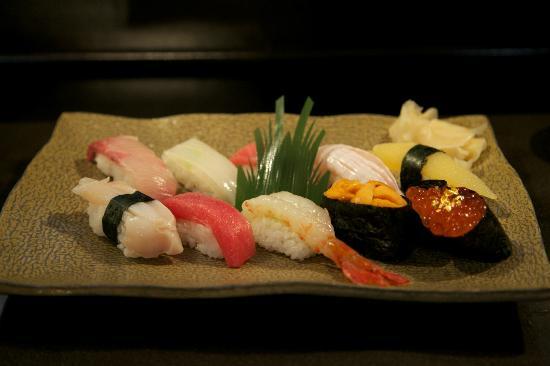 Kanazawa, Japón: Sushi.