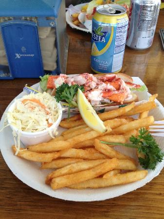 Lobster Roll Platter (minus the stuffies)