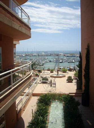 Hotel Mirador: Marina view but set back