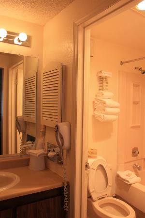 بريس فيو لودج: La salle de bain refaite
