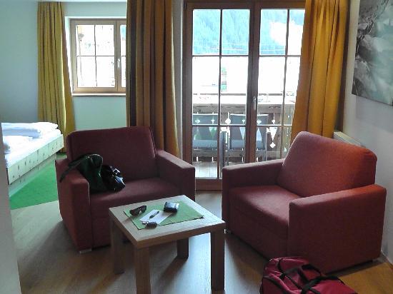 Natur Resort Senningerhof: Sitzbereich