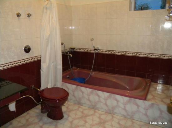 Hotel Cho Palace: Bathroom
