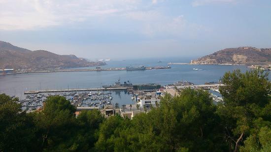 Castillo de la Concepción: El castillo vigila el puerto