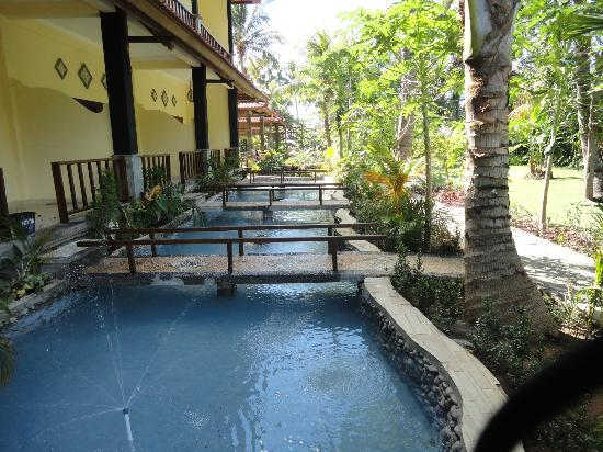 Bali Bhuana Beach Cottages: New building