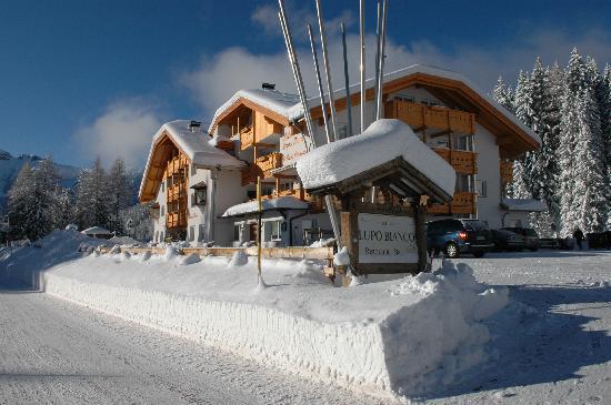 Wellness Hotel Lupo Bianco: Inverno Val di fassa