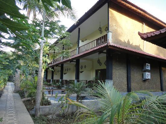 Bali Bhuana Beach Cottages: New building, now completed