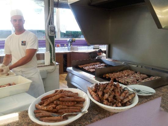 VOI Alimini Resort : carne alla griglia