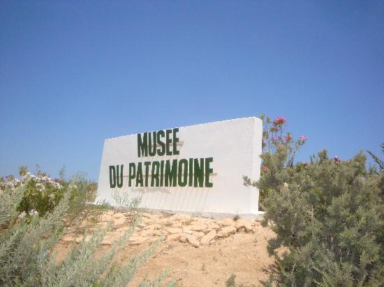 Musee du Patrimoine Traditionnel Djerbien: entrance