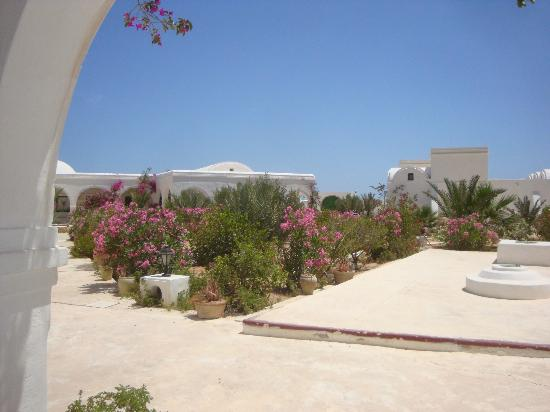 Houmt Souk, Tunisia: view from the terrace