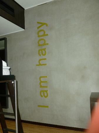Comfort Hotel Kristiansand: Saying on wall in room 363