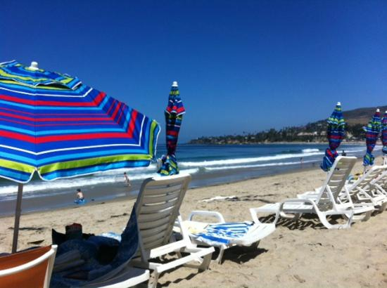Pacific Edge Hotel on Laguna Beach: Beautiful stretch of beach area but gets crowded early