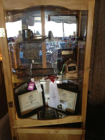 Paradise Cove Lodge: Awards for Food