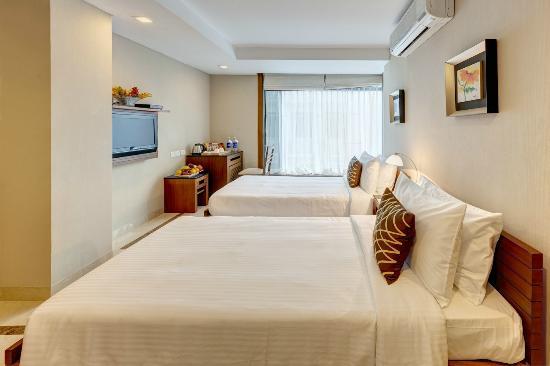 Hotel Casa Fortuna: Twin bedded room