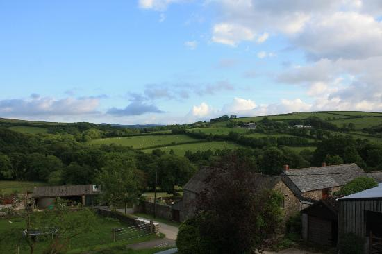 Tregolls Farm Holidays: Fabulous view from our room