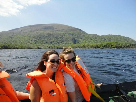Applecroft House: boat ride back from the Gap of Dunloe