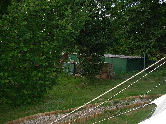 Le Kokopelli: Compost à quelques mètres du tipi 5 places
