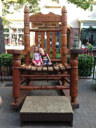 Grand Village Shops Rocking Chair