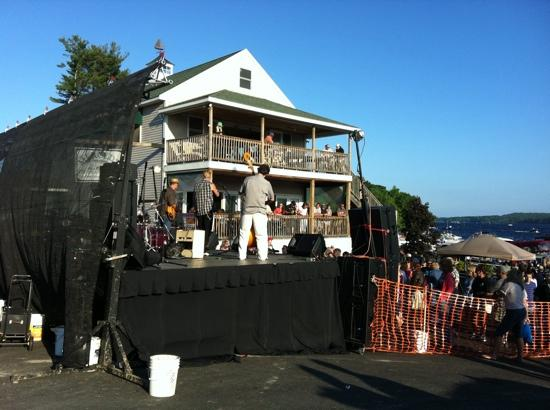 Merced's On Brandy Pond, Inc.: Maine Blues Festival 2012