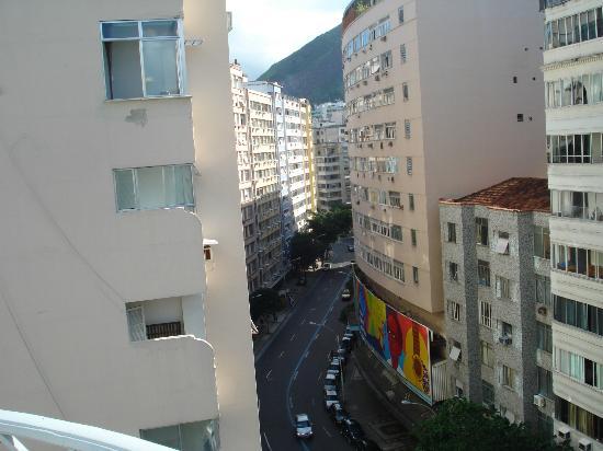 Belmond Copacabana Palace: Vista nada agradável