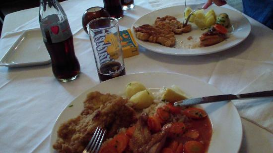 the food at Gasthaus Goldmarie