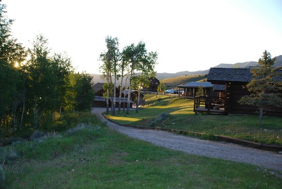 Goosewing Ranch: der Weg zum Speisesaal