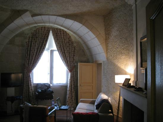 Les Hautes Roches: room interior