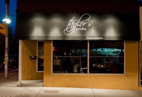 Taylor's Genuine Food and Wine Bar