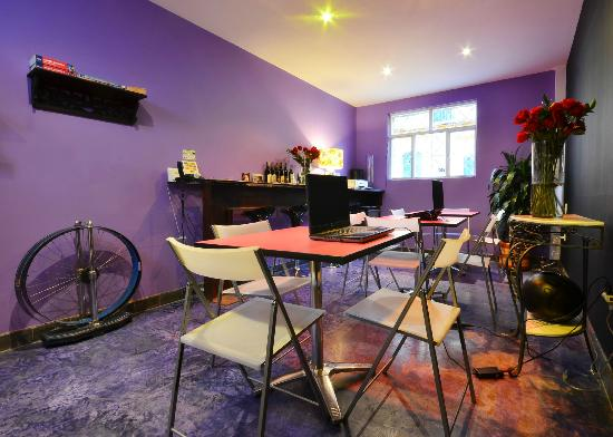 Hotel Casa Guadalupe: Social area