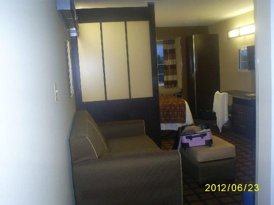 Microtel Inn and Suites by Wyndham Enola/Harrisburg: View from door