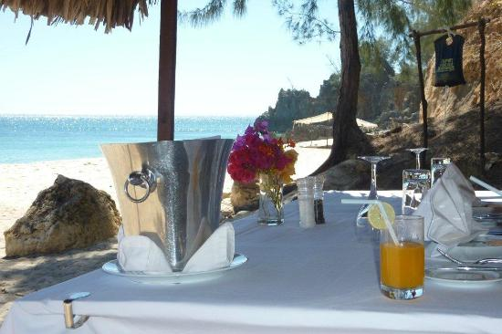 Anjajavy L'Hotel: A private picnic on a private beach