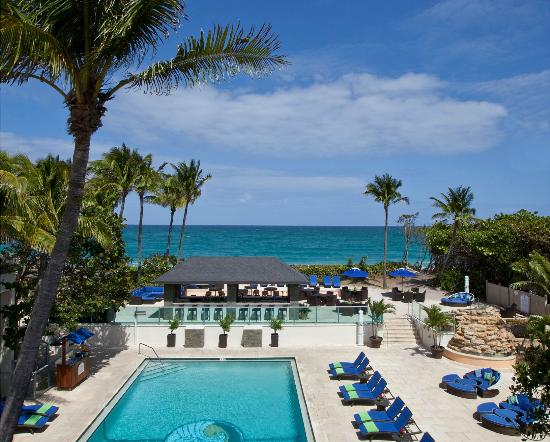 Jupiter Beach Resort: Oceanfront Pool