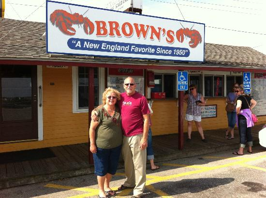 Brown's Seabrook Lobster Pound: We changed a lot in 40 years but Brown's didn't!