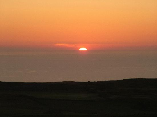 Sunset on the Great Orme.